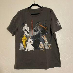 Disney Store Star Wars men's t-shirt, size 2XL